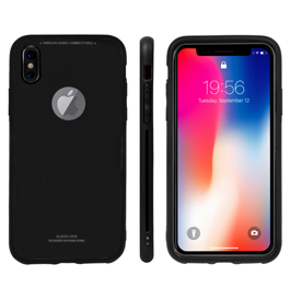 Ultra Thin 9h Hardness Tempered Glass Case for iPhone X